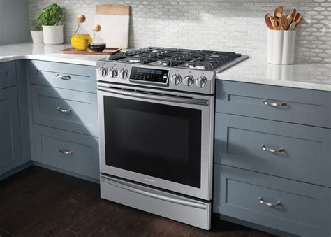 pros and cons of slide in ranges versus cooktop and oven samsung nx58h9500ws 30 inch slide in gas range with true
