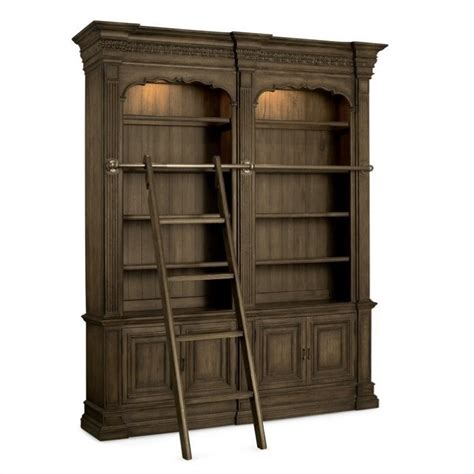 bookcase ladder and rail bookcase with ladder and rail adagio bookcase with