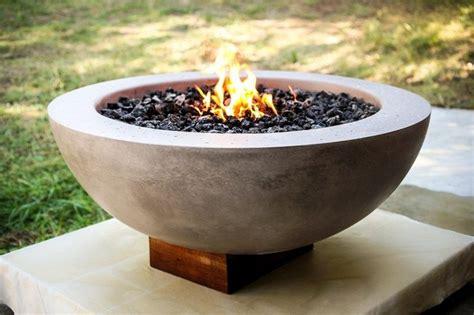firepit bowls diy concrete pit the owner builder network