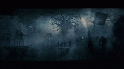 wallpaper format gif untuk hp baphomet horror lovecraft monster nightmare scary