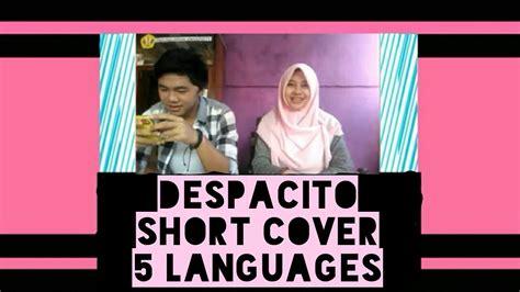 despacito korea despacito short cover 5 languages korean english