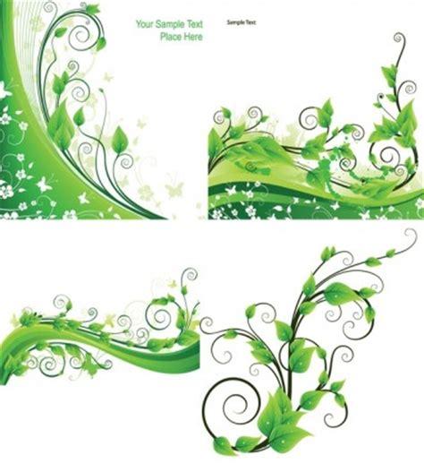 wallpaper daun merambat rotan hijau tanaman vektor vektor misc vektor gratis