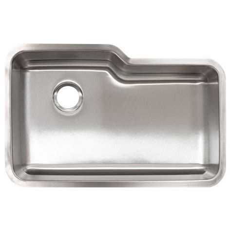lcl108 undermount stainless steel single bowl kitchen sink