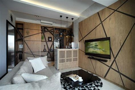 Bold Wood Interiors by Modern Interior Design