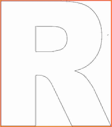 letter r template block letters template tristan gif sales report template