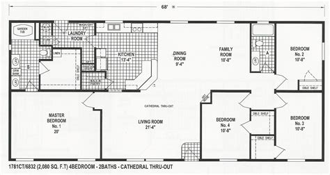 skyline manufactured home floor plans floor plans for skyline mobile homes