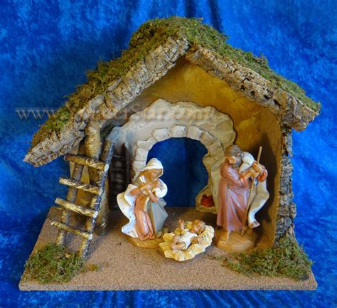 fontanini canada fontanini nativity starter set 7 5 quot with 13 75 quot wooden stable 54850