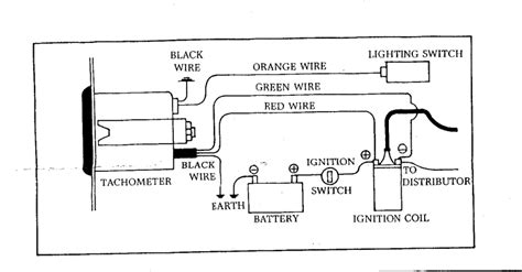 tachometer wiring diagram smiths images