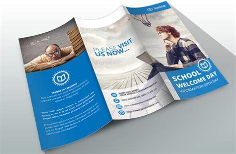 leaflet design ideas for school 10 awesome school brochure templates designs