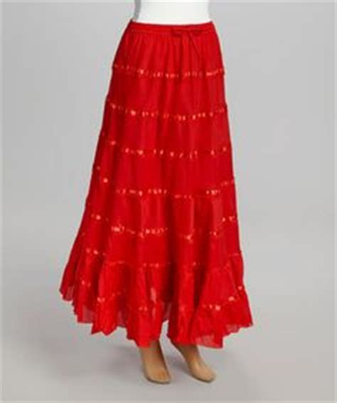 Ribbon Maxi 4 faldas bonitas on maxi skirts feathers and