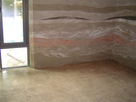 Bedroom Flooring Master Bedroom Polished Floors Rammed Earth Home Whistler Bc