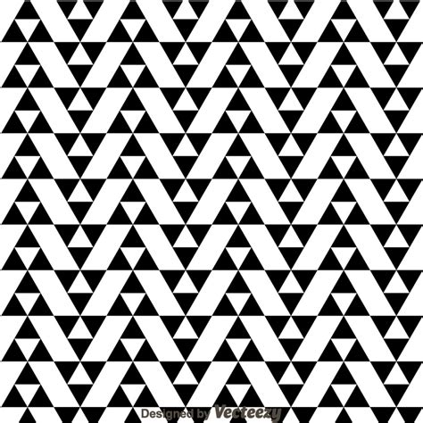 x pattern vector black and white triangle pattern