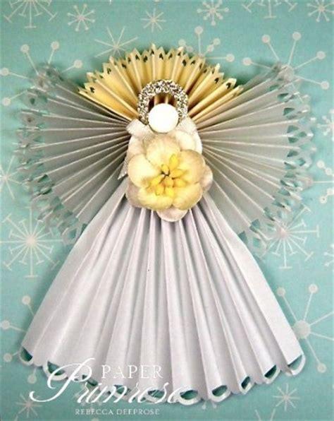 Angels Christmas Ornaments - diy christmas tree angel handspire