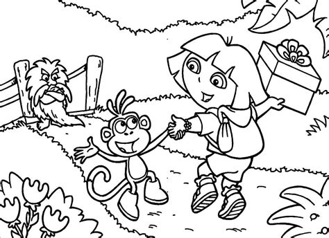 Dora The Explorers Printable Coloring Pages Coloring Pages For Toddlers Printable Pictures Of The Explorer