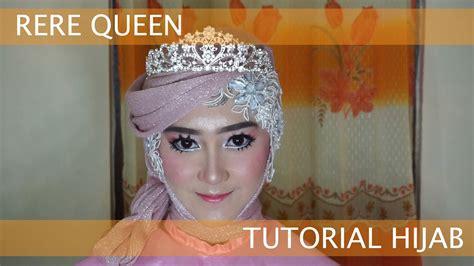 Tutorial Hijab Alia Queen   hijab tutorial rere queen youtube