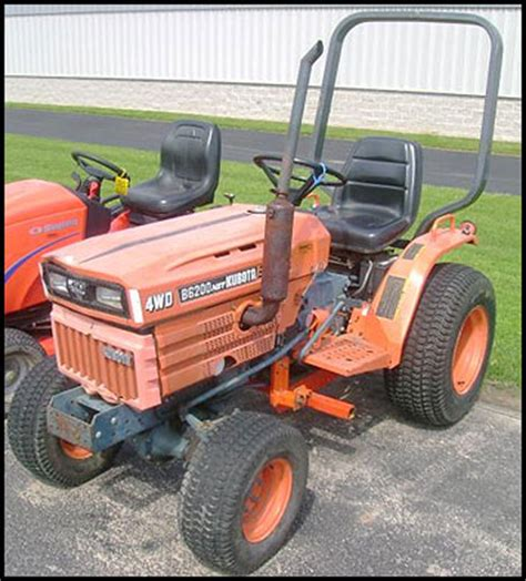 Kubota B6200 Specifications Attachments
