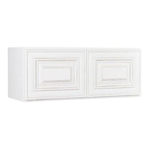 kitchen wall cabinets home depot lakewood cabinets 30x18x12 in all wood wall bridge