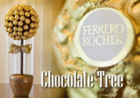 How to Make a Ferrero Rocher Chocolate Tree   YouTube