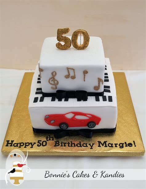 Nothing says celebration better than cake {50th birthday cake}   Bonnie's Cakes & Kandies