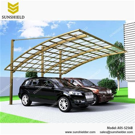 Shed Roof Design Cantilever Carport Double Car Shed Polycarbonate