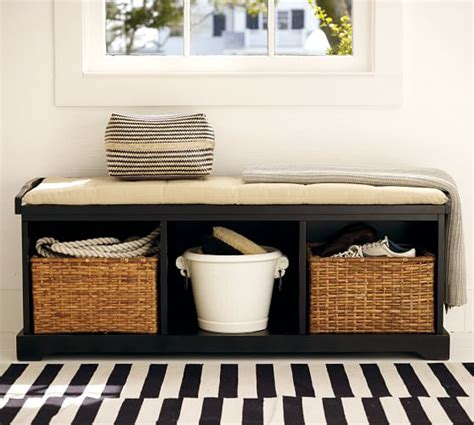 pottery barn storage bench samantha bench pottery barn
