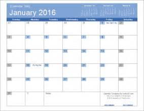 word 2014 calendar template 2016 calendar templates and images
