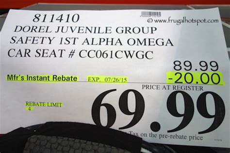 safety 1st car seat 3 in 1 costco costco sale safety alpha omega elite 3 in 1 car