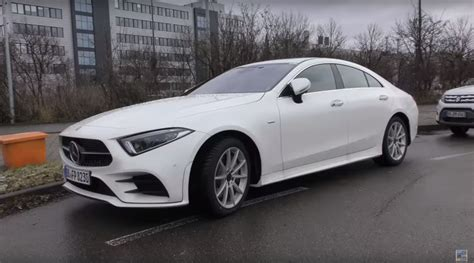 mercedes white 2018 mercedes cls 350 looks underwhelming in white