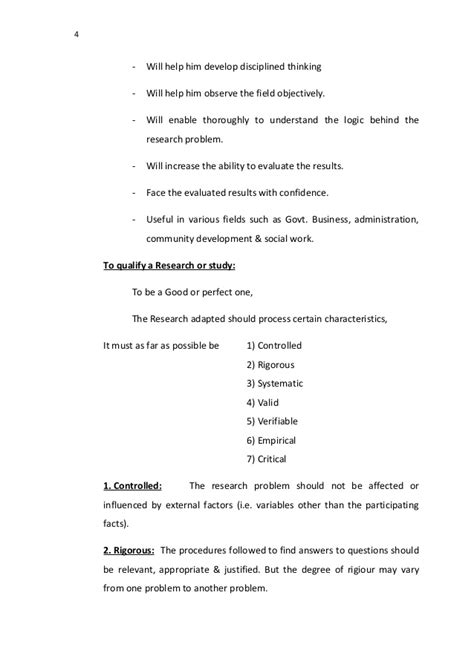 Business Research Methods Notes Mba by Research Methodology Notes