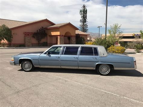 1987 Cadillac Brougham For Sale by Six Door 1987 Cadillac Brougham Limousine For Sale