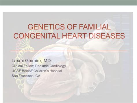 pattern of heart failure in a nigerian teaching hospital genetics of congenital heart disease