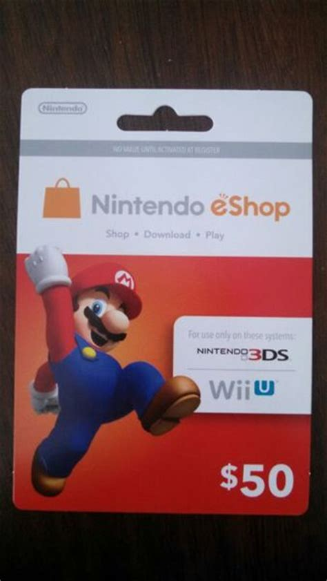 Free Eshop Gift Cards - free nintendo eshop card 50 gift cards listia com auctions for free stuff
