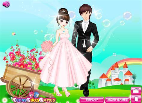 wedding dress up games style