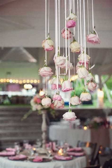 Weddings On Line wedding decor trend hanging flowers weddingsonline ae