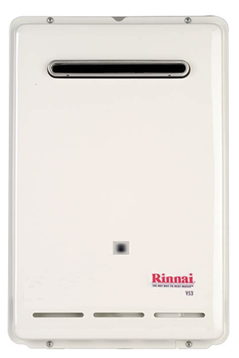 Water Heater Rinnai Reu 5cfb rinnai v53e reu vam1620w us value series exterior
