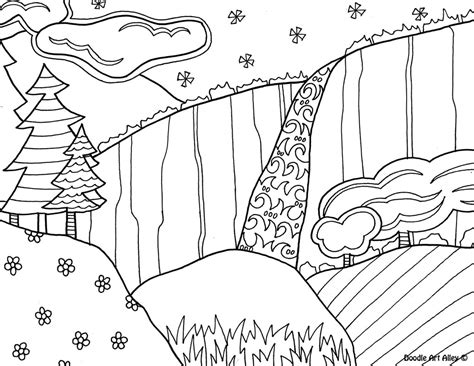 niagara falls coloring page coloring pages ideas reviews
