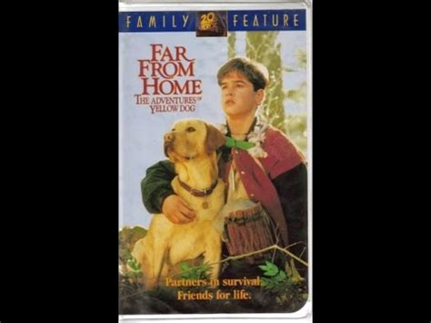 far from home the adventures of yellow opening to the about cats dogs 1996 vhs funnycat tv