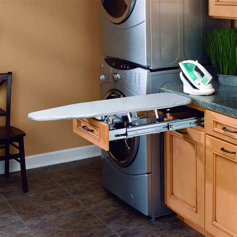 Ironing Board Pull Out Drawer by Rev A Shelf Pull Out Ironing Board The Green