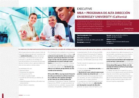 Executive Mba California by Executive Mba Estema Escuela De Negocios