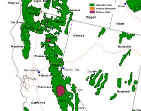national forests in california map emergency preparedness hazard maps