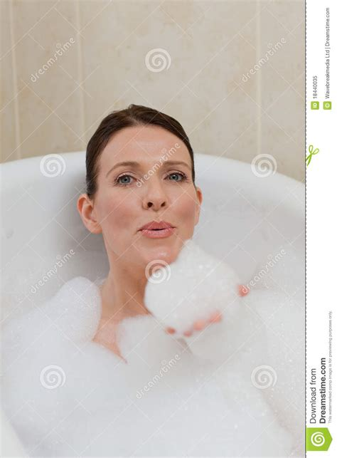 beautiful bath beautiful taking a bath royalty free stock photo