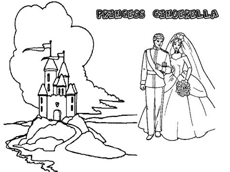 Easy Cinderella Castle Coloring Coloring Coloring Pages Cinderella Castle Coloring Pages