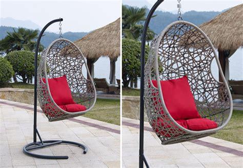 hanging egg chair with stand nz huraki wicker hanging chair grabone nz