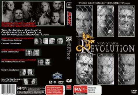new year revolution 2005 dvd cover new years revolution 2005