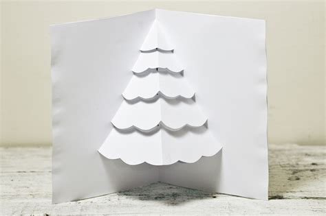 how to make a christmas tree pop up card robert sabuda