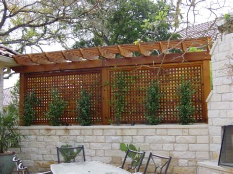 privacy wall for backyard privacy enclosure archadeck outdoor living