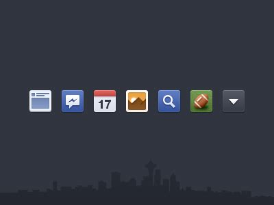 facebook newsfeed icons  psd  kubilay sapayer