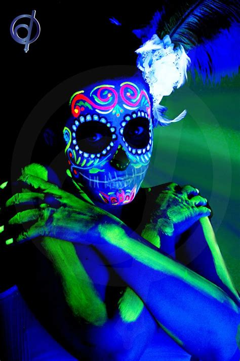glow in the paint mexico 72 best uv blacklight paint images on black