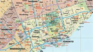map of downtown toronto canada map of toronto 187 travel