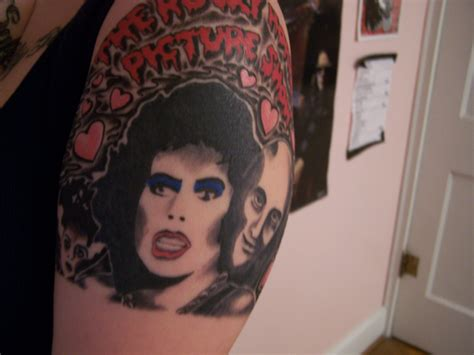 frank n furter tattoo 12 rad rocky horror picture show tattoos